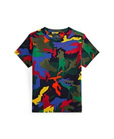 Toddler Boys Polo Pony Camouflage T-shirt