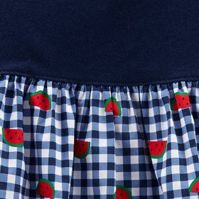 Baby Girls' Watermelon Gingham Romper - Just One Y