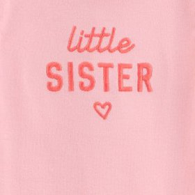 Baby Girls' 2pc 'Little Sister' Tutu Top and Botto