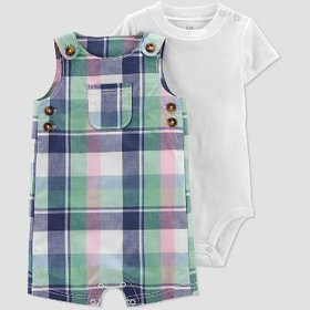 Baby Boys' Plaid Top & Bottom Set - Just One You®