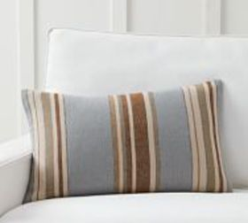 Pottery Barn Lonnie Striped Pillow Cover