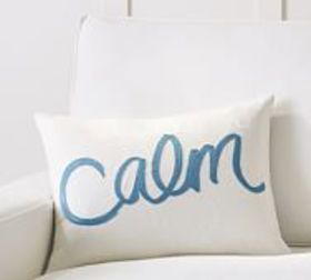 Pottery Barn Rebecca Atwood Calm Embroidered Lumba