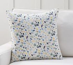 Pottery Barn Rebecca Atwood Paint Daubs Pillow Cov