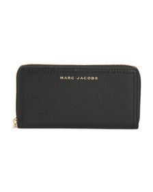 Leather The Groove Zippy Wallet