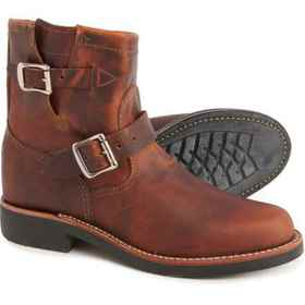 """Chippewa 7"""" Raynard Engineer Boot - Leather (For W"""