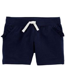 carters Ruffle Pull-On French Terry Shorts