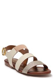 CHLOE See by Chloe Strappy Colorblock Leather Sand