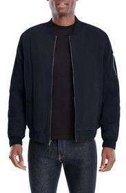 LUCKY BRAND Faux Shearling Lined Bomber Jacket