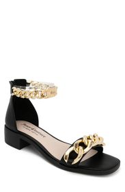 JUICY COUTURE Curb Chain Ankle Strap Sandal (Women