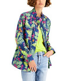 Printed Utility Jacket, Created for Macy's