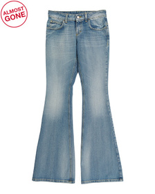 Made In Italy Flare Denim Jeans