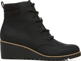 Women's Zone Lace Up Wedge Bootie