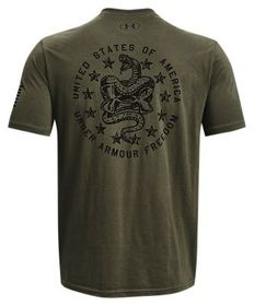 Under Armour Freedom Snake Short-Sleeve T-Shirt fo