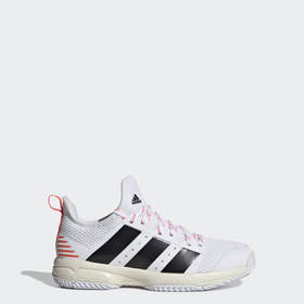 Adidas Youth Volleyball White Stabil Indoor Shoes