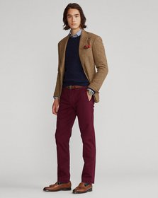 Ralph Lauren Stretch Straight Fit Washed Chino Pan