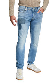 7 for all mankind Men's Stacked Skinny Jeans