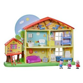 Peppa Pig Peppa's Playtime to Bedtime House Playse