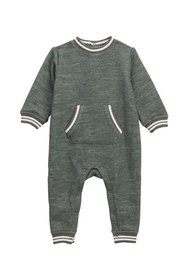 Splendid Boy's Speckle Terry Coverall, Size 0-9 Mo