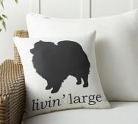 Pottery Barn Livin Large Dog Indoor/Outdoor Pillow