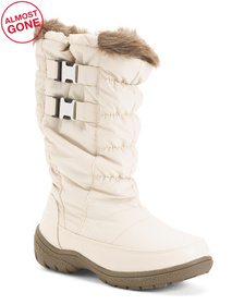 Double Buckle Snow Boots