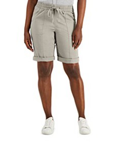 Petite Pull-On Shorts, Created for Macy's