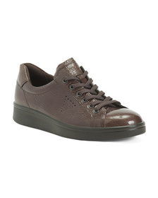 Patent Leather Comfort Sneakers