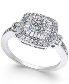 Diamond Vintage-Inspired Ring (1/2 ct. t.w.) in 14