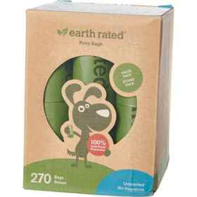 Earth Rated Unscented Dog Waste Bags - 270 Count i