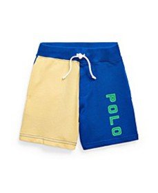 Toddler Boys Color-Blocked Spa Terry Shorts