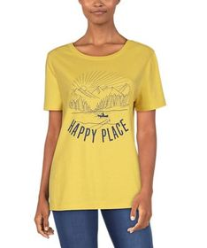 Natural Reflections Happy Place Short-Sleeve T-Shi
