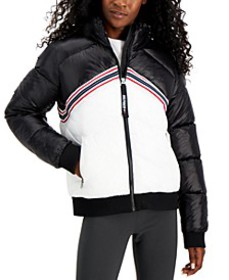 Colorblocked Puffer Jacket