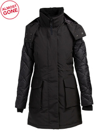 Women's Elwin Down Parka With Shearling