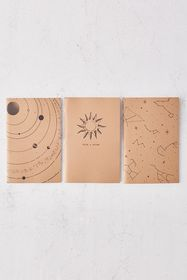 Astronomy Notebook - Set Of 3