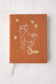 Zodiac Embroidered Journal