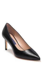 STUART WEITZMAN Leigh Pointed Toe Leather Pump (Wo