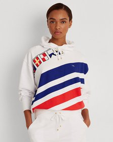 Ralph Lauren Flags-and-Stripes French Terry Hoodie