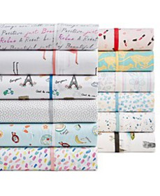 Novelty Print 100% Cotton Percale 250 Thread Count