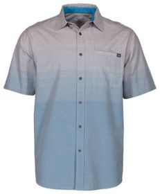 Ascend Ombre Button-Down Short-Sleeve Shirt for Me