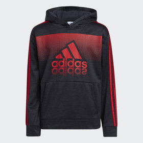 Adidas Youth Training Red Fade Horizon Hoodie (Ext