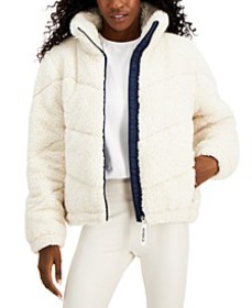 Quilted Sherpa Jacket